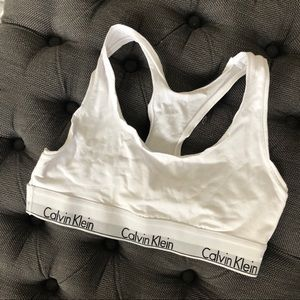Calvin Klein White Bralette